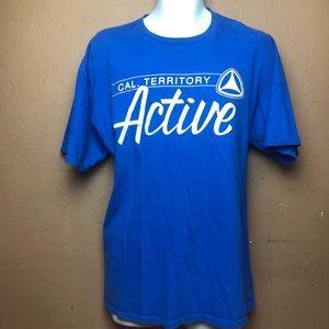 Active Ride Shop Blue Short Sleeve T-Shirt Sz XL